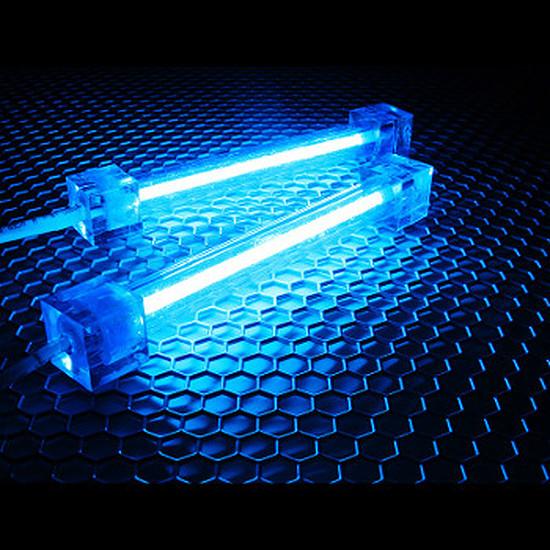 Filtre anti-poussière Revoltec Kit 2 Néons PC - Bleu 10 cm