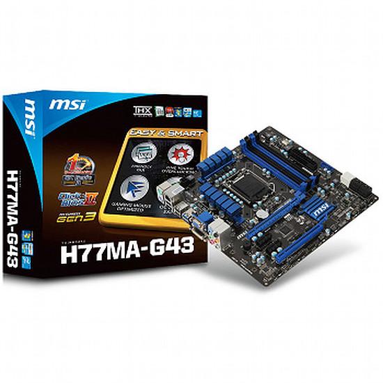 Carte mère MSI H77MA-G43