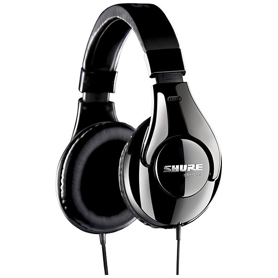 Casque Audio Shure SRH 240A Noir