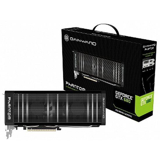 Carte graphique Gainward GeForce GTX 680 Phantom - 2 Go