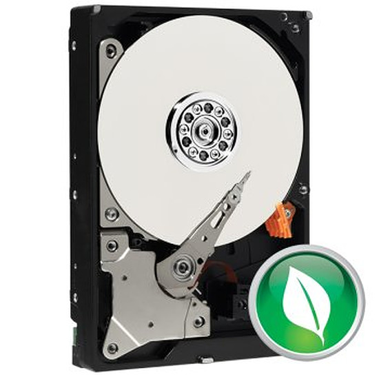 "Disque dur interne Western Digital (WD) WD Green 3,5"" - SATA III 6 Gb/s - 1 To (Caviar)"