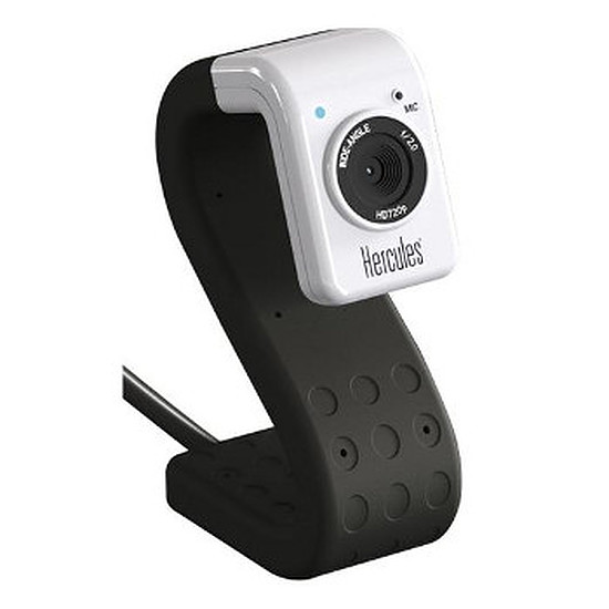 Webcam Hercules HD Twist - Noir