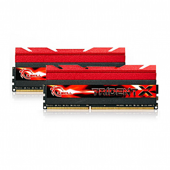 Mémoire G.Skill Extreme3 Trident X DDR3 2 x 8 Go 2400 MHz  CAS 10
