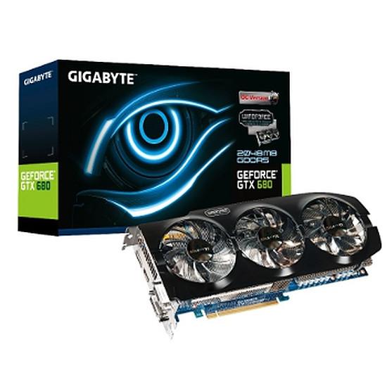 Carte graphique Gigabyte GeForce GTX 680 OC - 2 Go (GV-N680OC-2GD)