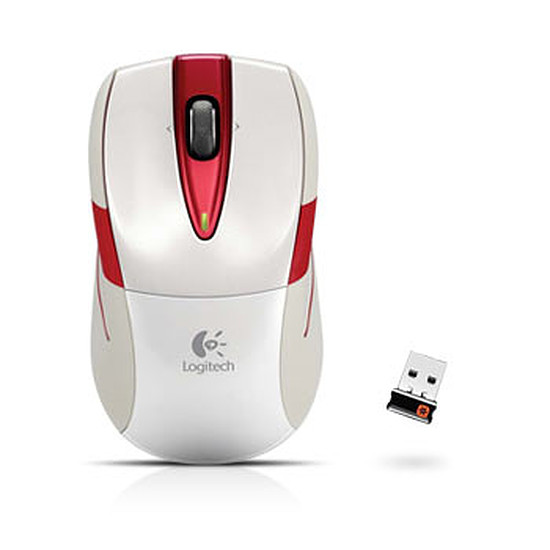 Souris PC Logitech M525 Wireless Mouse - Ivoire