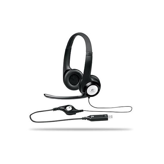 Casque micro Logitech USB Headset H390 - Autre vue