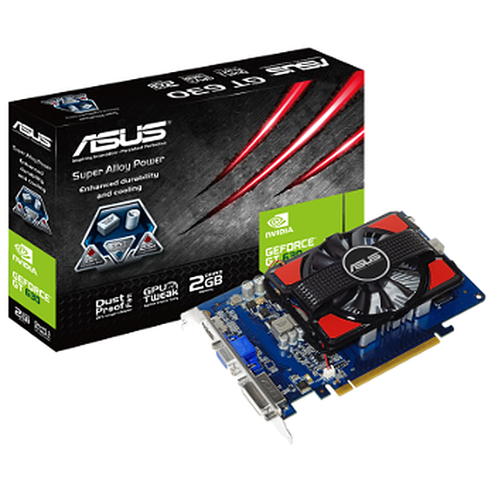 Carte graphique Asus GeForce GT 630 - 2 Go (GT630-2GD3)