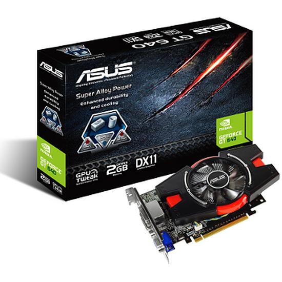 Carte graphique Asus GeForce GT 640 - 2 Go (GT640-2GD3)