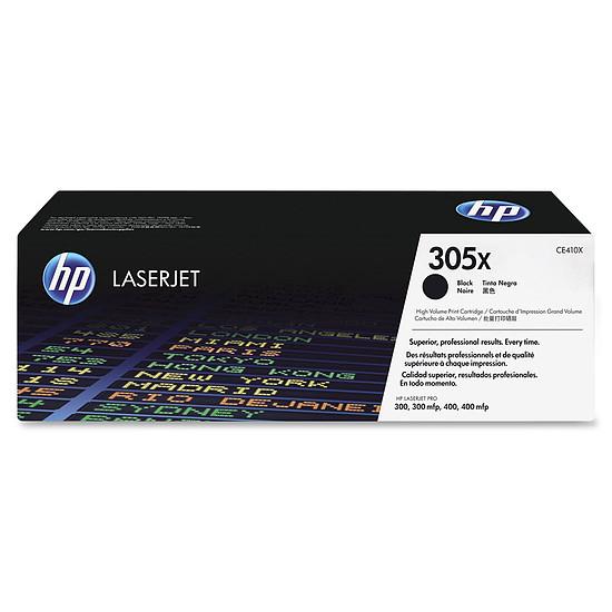 Toner imprimante HP 305X - CE410X Noir Haute capacité