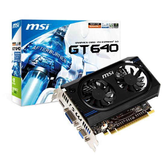 Carte graphique MSI GeForce GT 640 - 1 Go (N640GT-MD1GD3)
