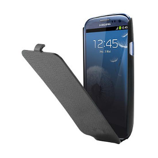 Coque et housse  Etui à rabat noir - Samsung Galaxy S3