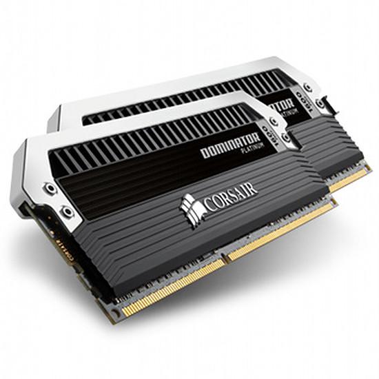 Mémoire Corsair Dominator Platinum DDR3 2 x 4 Go 1600 MHz CAS 9
