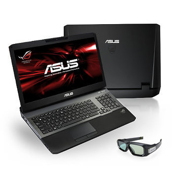 PC portable Asus ROG G75VW-9Z203V - Blu-ray - 3D