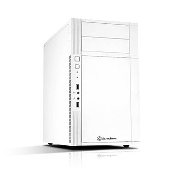 Boîtier PC Silverstone PS07 - Blanc
