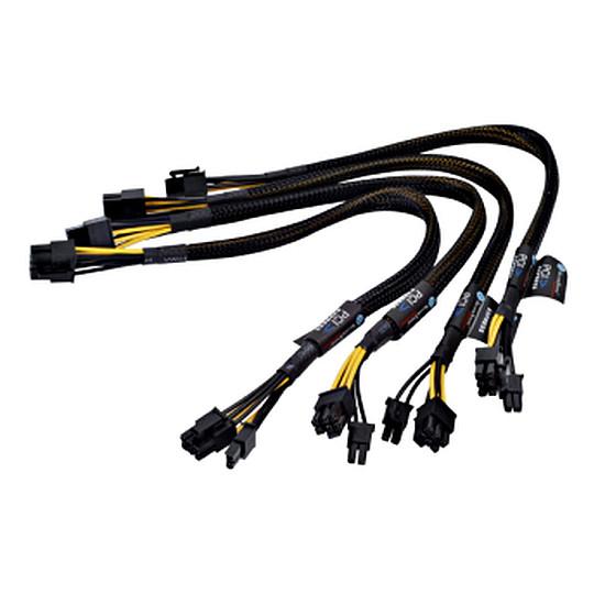 Alimentation Silverstone SST-PP05 Câbles courts pour alimentation modulaire