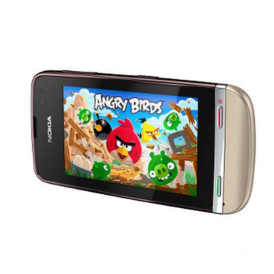 Smartphone et téléphone mobile Nokia Asha 311 (blanc/sable)