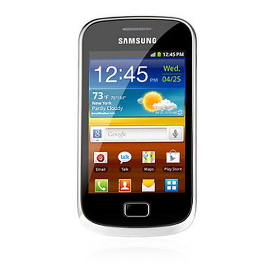 Smartphone et téléphone mobile Samsung Galaxy Mini 2 (noir & argent)