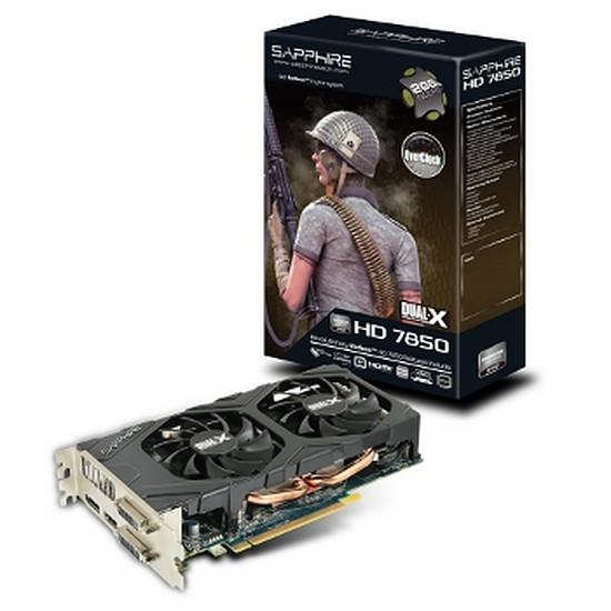 Carte graphique Sapphire Radeon HD 7850 OC - 2 Go