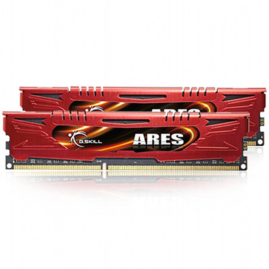 Mémoire G.Skill Extreme3 ARES RED DDR3 2 x 8 Go 1600 MHz CAS 9