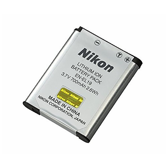 Batterie et chargeur Nikon Batterie EN-EL19