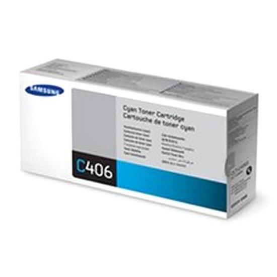Toner Samsung CLT-C406S Toner Cyan