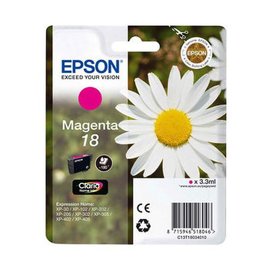 Cartouche imprimante Epson T1803 Magenta - C13T18034010