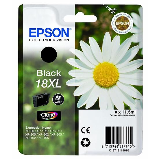 Cartouche imprimante Epson T1811 XL Noir - C13T18114010