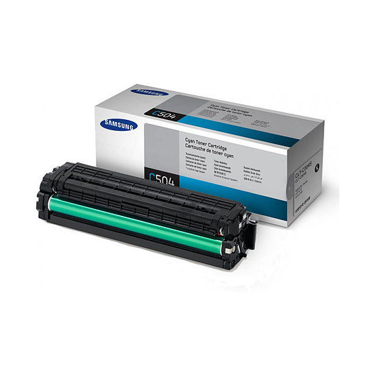 Toner imprimante Samsung CLT-C504S Toner Cyan