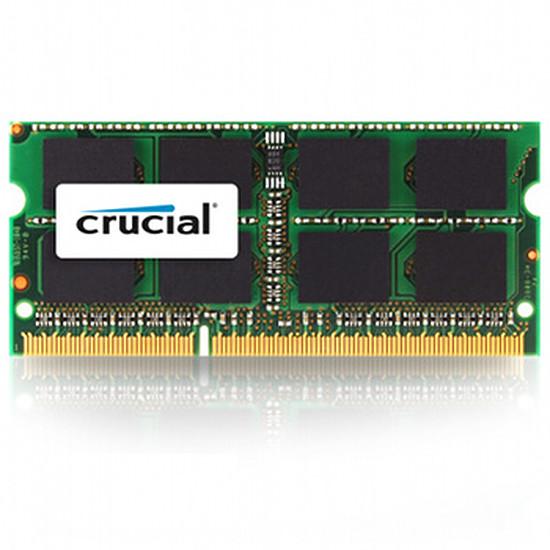 Mémoire Crucial CT4G3S160BMCEU - SO-DIMM DDR3 4 Go PC12800