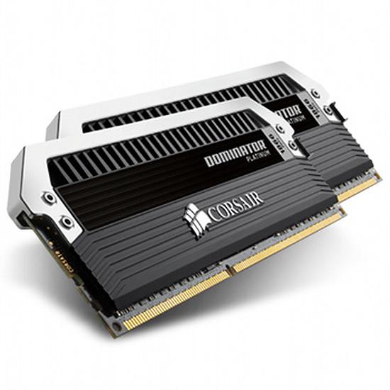 Mémoire Corsair Dominator Platinum 2 x 8 Go DDR3 1866 MHz CAS 10