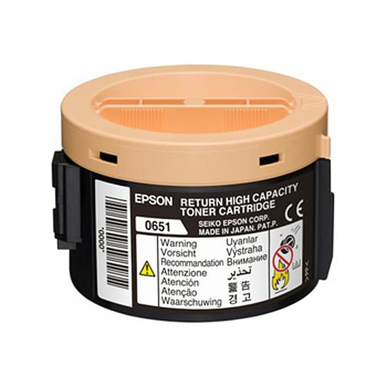 Toner Epson C13S050651 - S050651 Noir Haute capacité