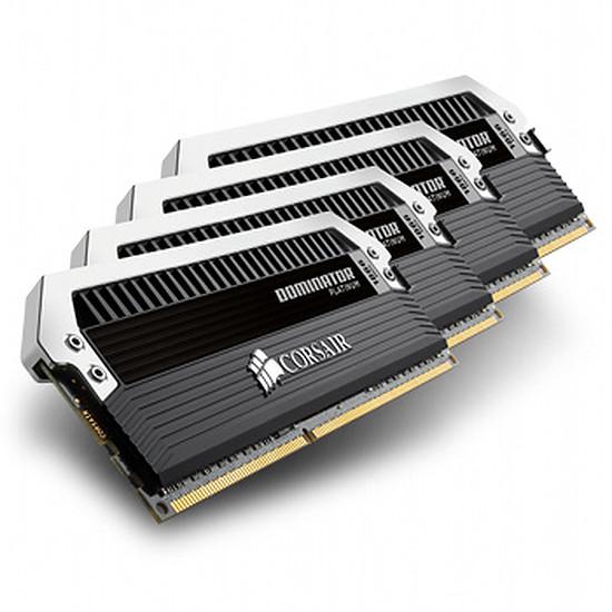 Mémoire Corsair Dominator Platinum 4 x 8 Go DDR3 1600 MHz CAS 9