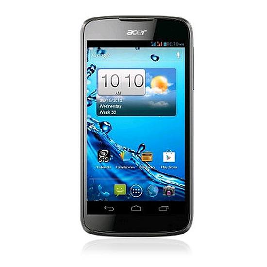 Smartphone et téléphone mobile Acer Liquid Gallant Duo (noir)