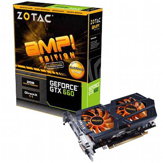 Carte graphique Zotac GeForce GTX 660 AMP Edition - 2 Go