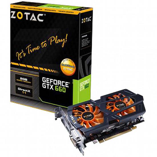 Carte graphique Zotac GeForce GTX 660 OC - 2 Go