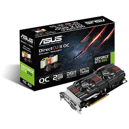 Carte graphique Asus GeForce GTX 660 OC - 2 Go (GTX660-DC2O-2GD5)