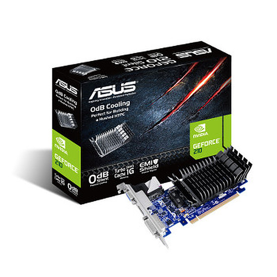 Carte graphique Asus GeForce 210 - 512 Mo (210-SL-TC1GD3-L)