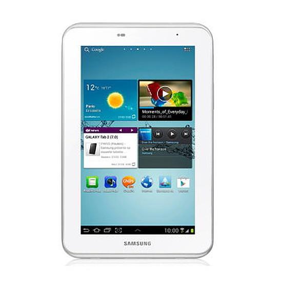 """Tablette Samsung Galaxy Tab 2 7"""" 8Go Wi-Fi (Blanc)"""