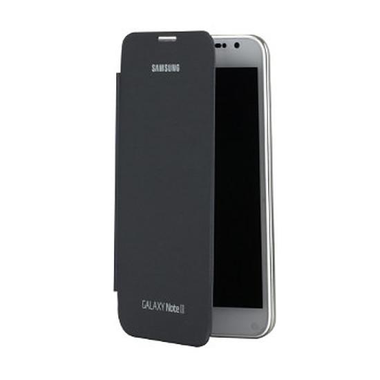 Coque et housse Samsung Etui Flip Cover EFC-1J9FS - Galaxy Note 2 (gris)