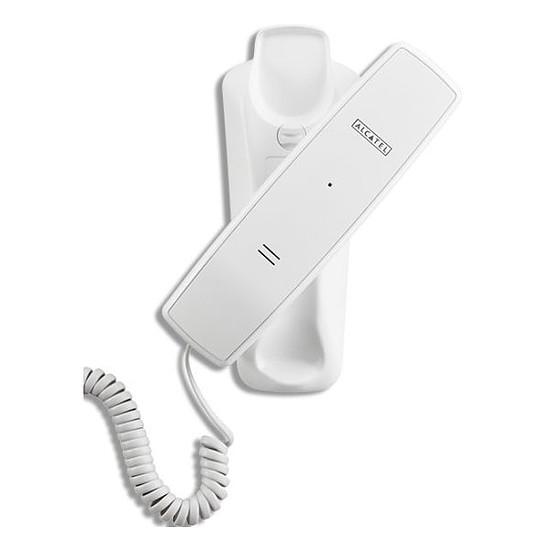 Téléphone fixe filaire Alcatel Temporis 10 (blanc)