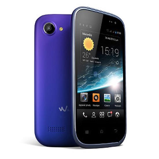 Smartphone et téléphone mobile Wiko Cink Slim (bleu)