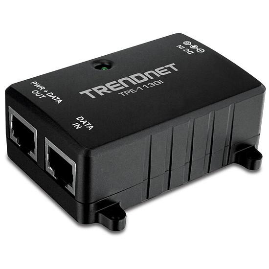 Switch et Commutateur TrendNet Injecteur PoE Gigabit TPE-113GI