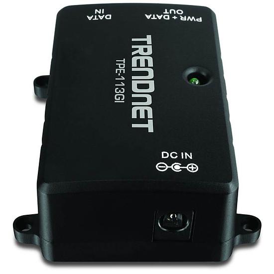 Switch et Commutateur TrendNet Injecteur PoE Gigabit TPE-113GI - Autre vue