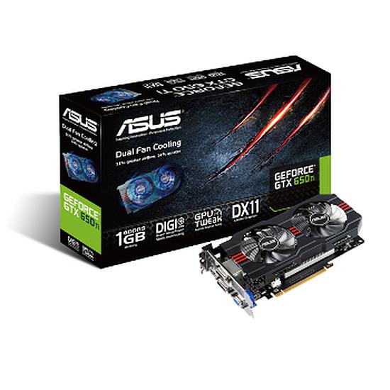 Carte graphique Asus GeForce GTX 650 Ti - 1 Go (GTX650Ti-1GD5)
