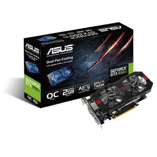 Carte graphique Asus GeForce GTX 650 Ti OC - 2 Go (GTX650TI-OC-2GD5)
