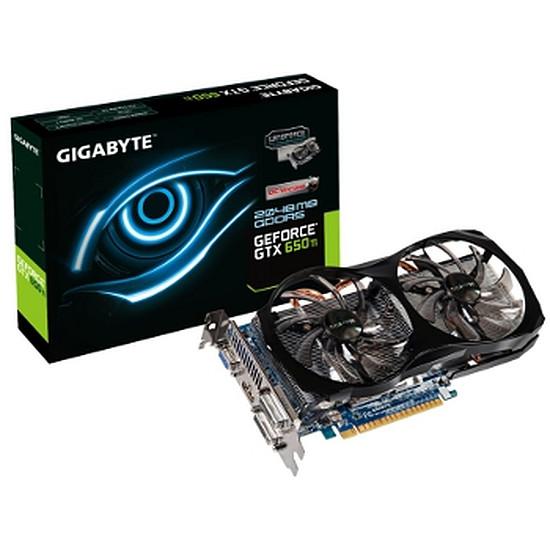 Carte graphique Gigabyte GeForce GTX 650 Ti OC - 2 Go