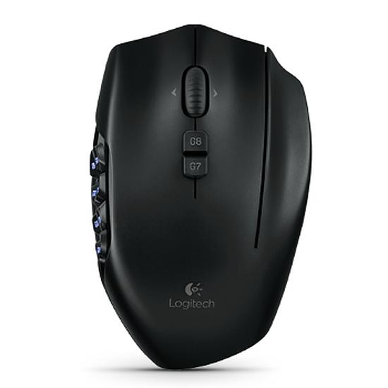 Souris PC Logitech G600 MMO gaming Mouse - Noir