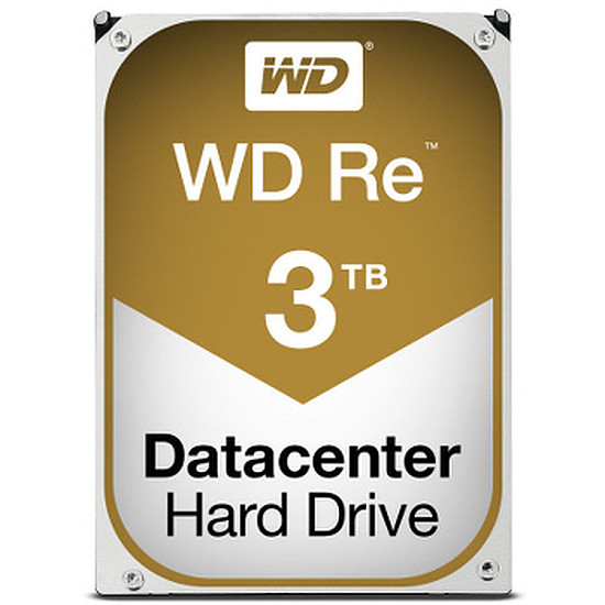 Disque dur interne Western Digital (WD) RE - SATA III 6 Gb/s - 3 To - 64 Mo