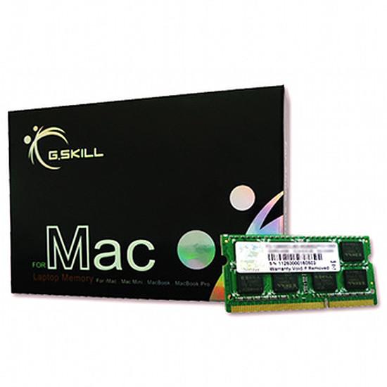 Mémoire G.Skill FA-1600C11S-8GSQ - SO-DIMM DDR3 8 Go PC12800