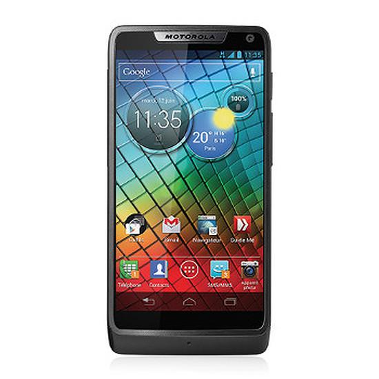 Smartphone et téléphone mobile Motorola RAZR i (noir)